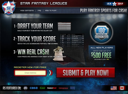 Star Fantasy Leagues Daily Fantasy Sports