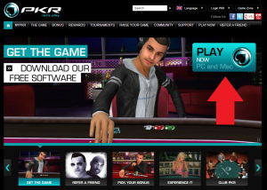 PKR.com Screenshot