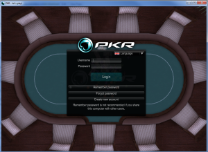 Login to PKR Poker