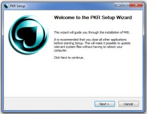 Install PKR