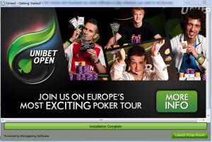 Open Unibet Poker