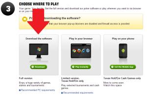 Download Unibet Poker Software